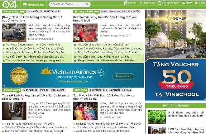 Thể thao 24h.com.vn - cập nhật thông tin bóng đá 24h