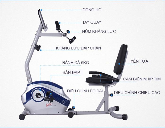 Sản phẩm của Siêu Thị Thể Thao Kim Thành đảm bảo chính hãng và chế độ bảo hành tốt, từ 1 năm trở lên