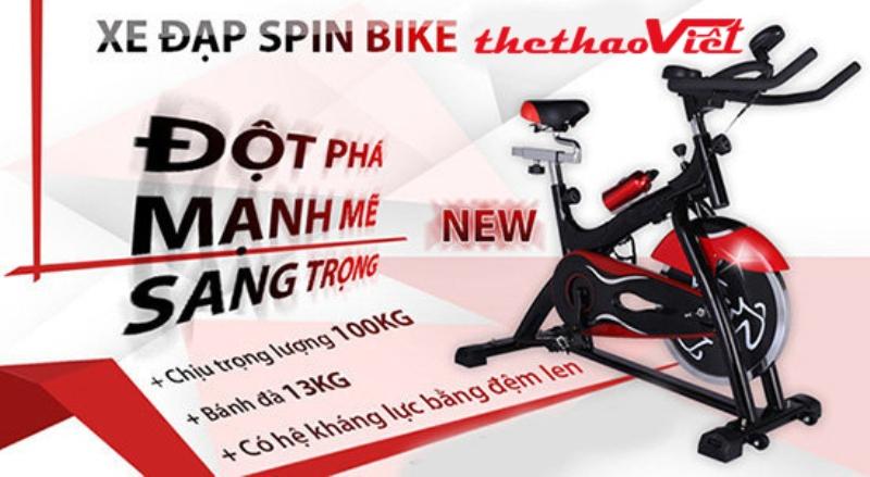 Xe đạp tập thể dục đa năng