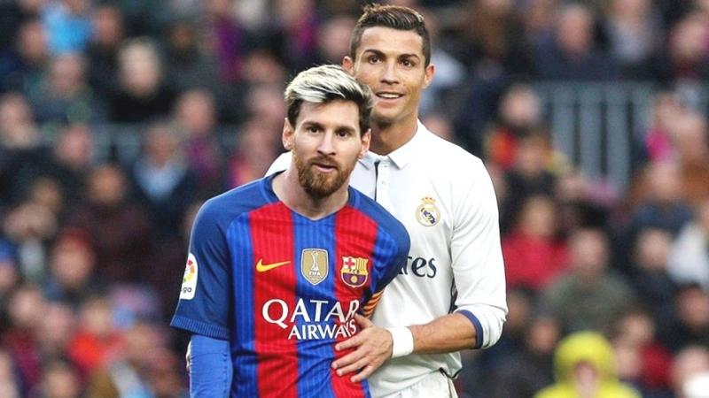 Thể trạng của Ronaldo hơn hẳn Messi