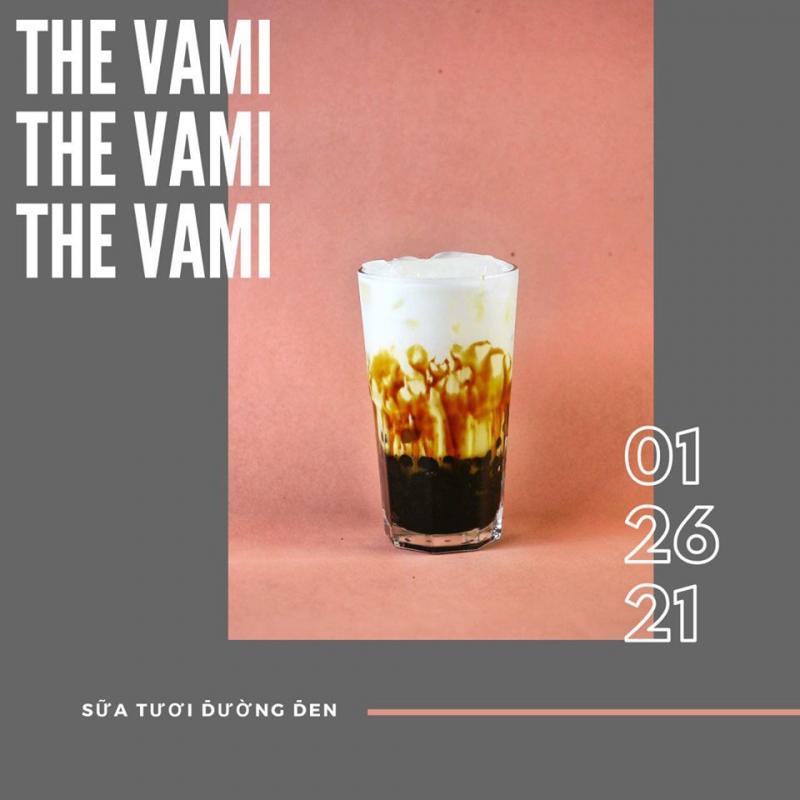Sữa tươi trân châu đường đen của The VaMi