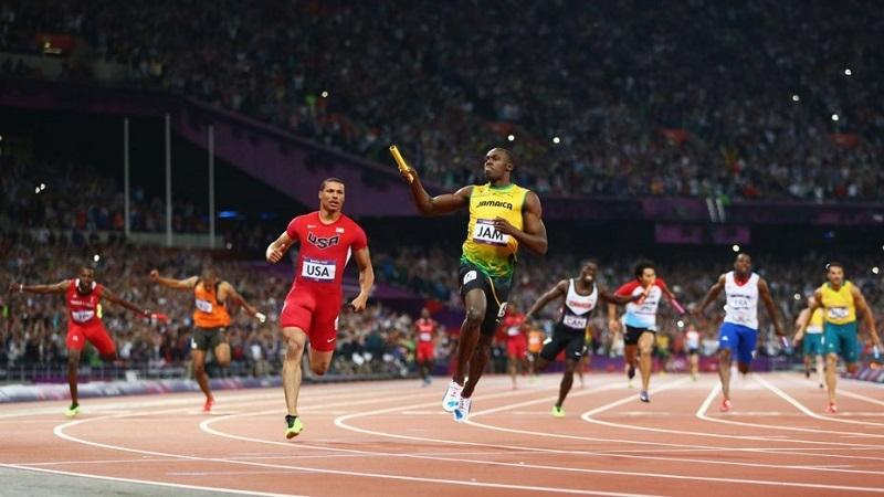 Một trong những cuộc thi của thế vận hội