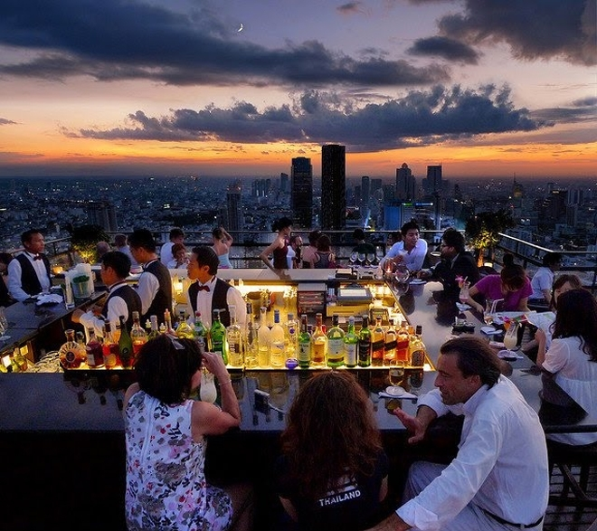 The Vertigo Moon Bar, Bangkok, Thái Lan