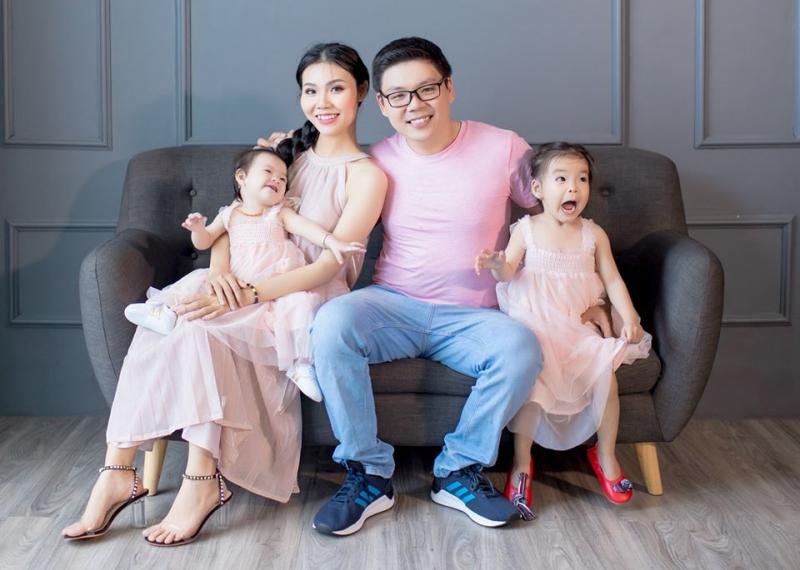 Ảnh gia đình đáng yêu được chụp bởi The Will Family