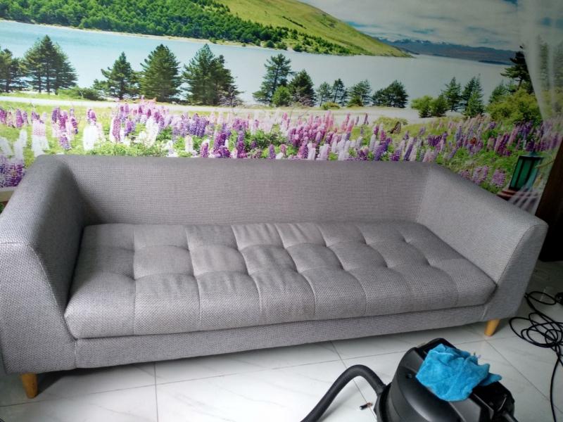 Sofa sau khi được làm sạch bởi đội ngũ chuyên viên The wOw CLEAR