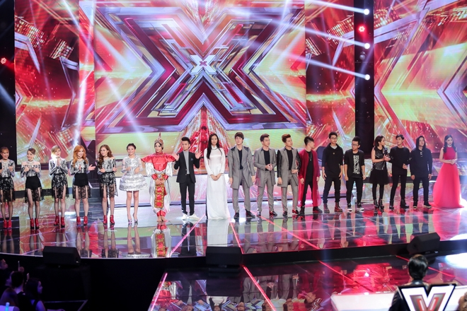 The X-Factor đã đánh bại nhiều chương trình nổi tiếng để dành các giải thưởng