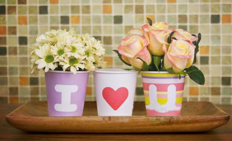 Một chiếc cốc mới đáng yêu trong nhà sẽ khiến anh xã tò mò