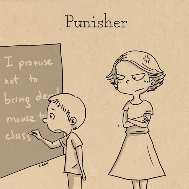 Cô giáo và học trò