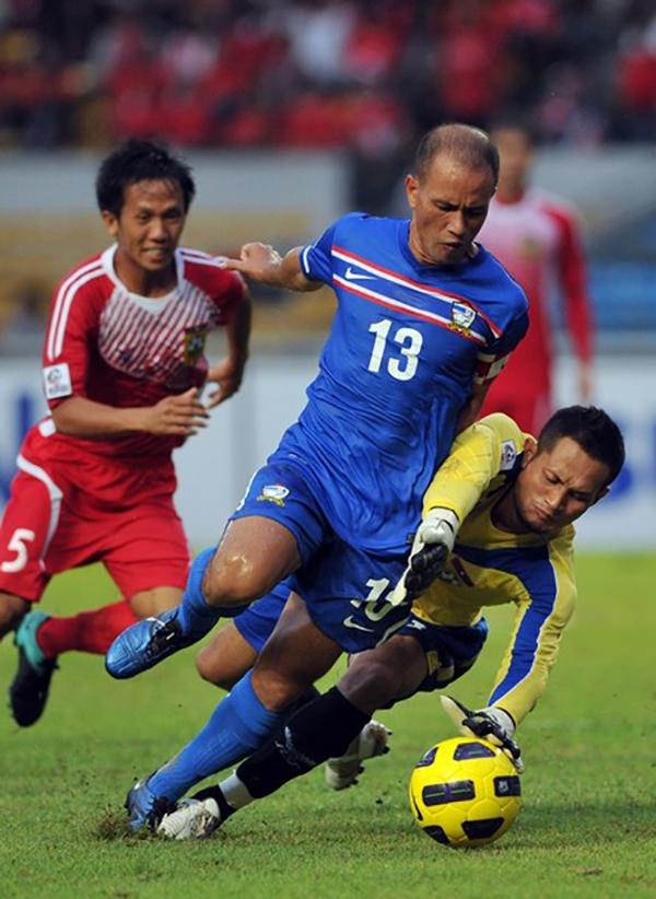 Chaiman từng được đề cử vào danh sách cầu thủ xuất sắc nhất châu Á.