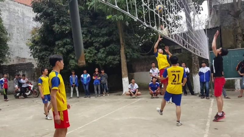 Thi đấu bóng chuyền chào mừng ngày 26 - 3