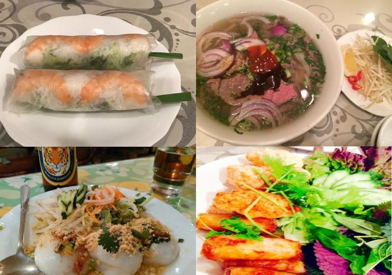Các món ăn của Thi Thi