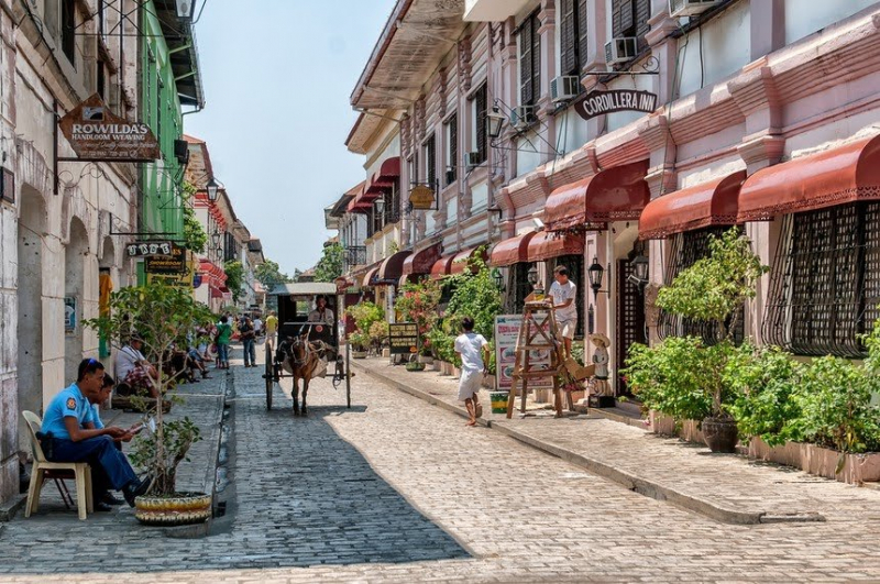 Thị trấn lịch sử Vigan, Philippine