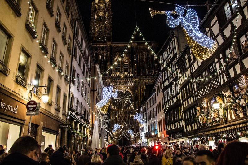 Không khí Giáng sinh tại thị trấn Provence