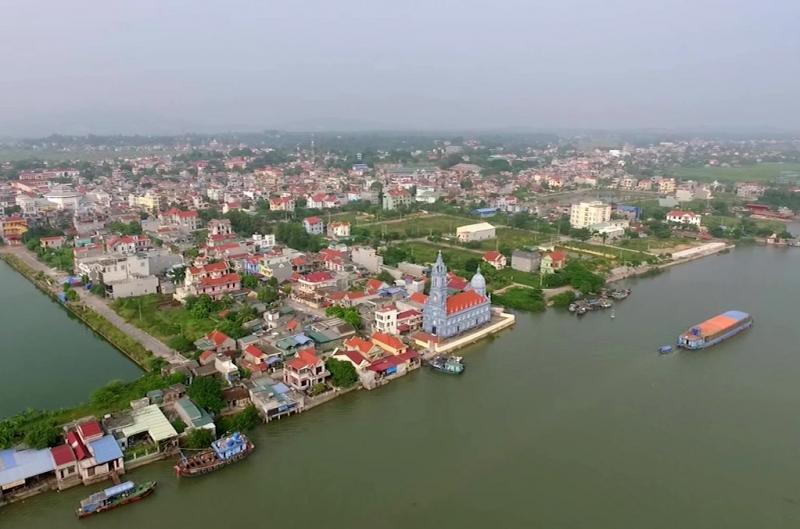 Một góc của thị xã ven biển- Quảng Yên