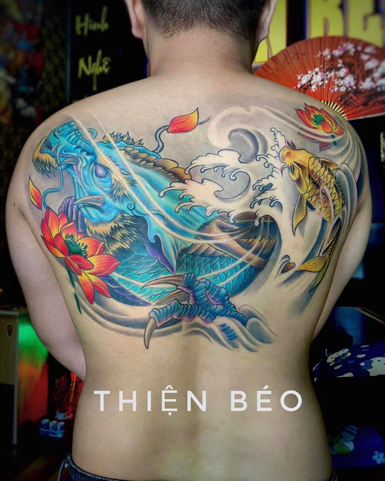 Thiện Béo Tattoo.