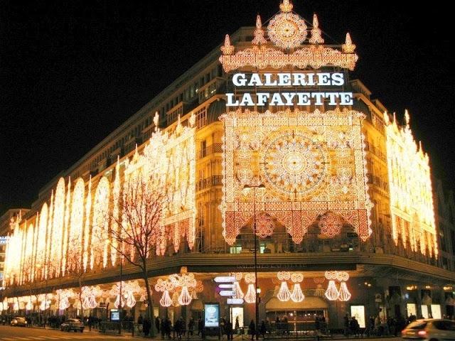 Galleries Lafayette - Paris - Pháp