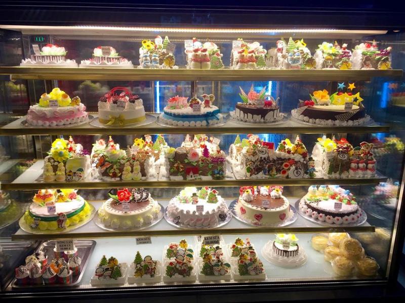 Tủ bánh kem Thiên Hương Bakery