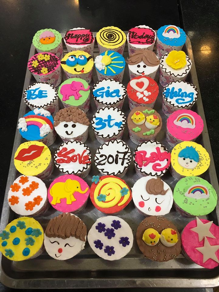 Bánh kem cupcake