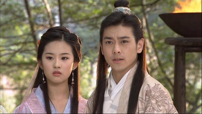 Hai trong số những nhân vật chính của phim (Lâm Chí Dĩnh và Lưu Diệc Phi)