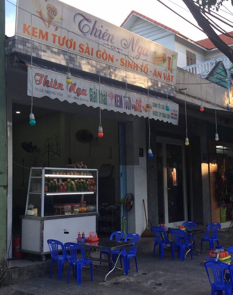 Quán kem tươi Sài Gòn Thiên Nga