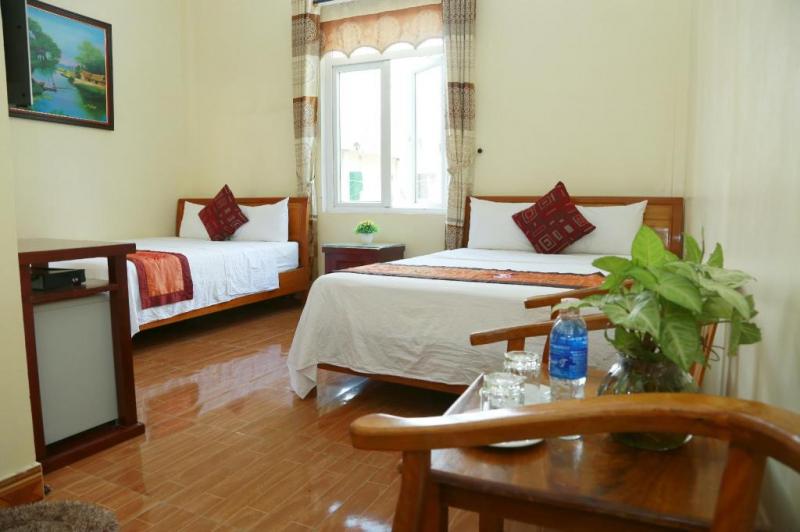Một phòng nghỉ như thế này rất thích hợp để nghỉ ngơi sau chuyến đi dài mệt mỏi và cũng rất phù hợp để làm việc khi đi công tác.