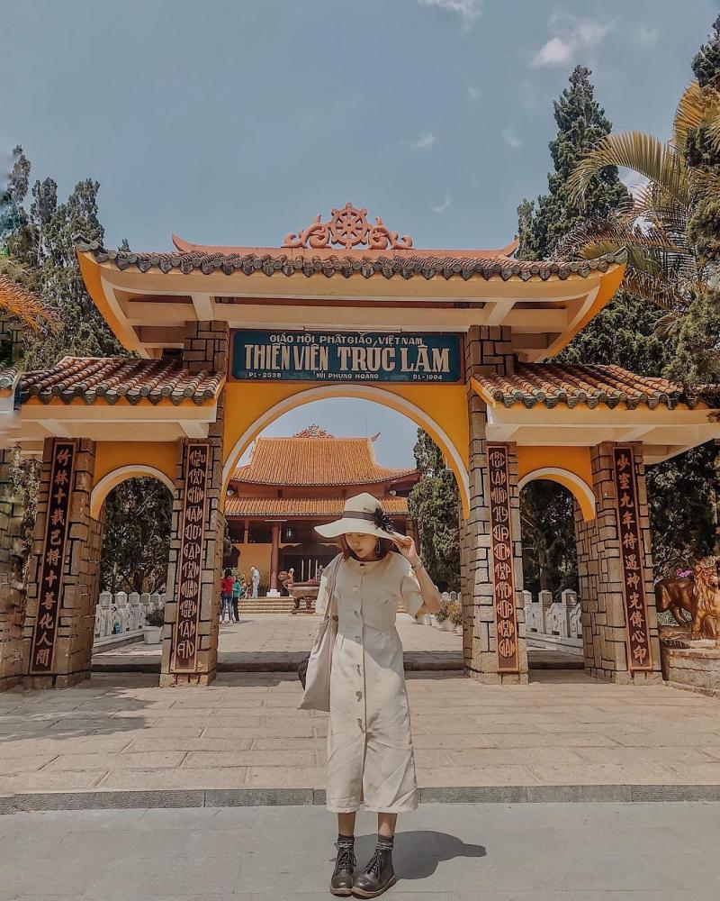 Thiền Viện Trúc Lâm Đà Lạt.