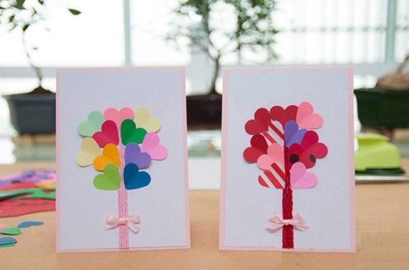 Подарки и открытки своими руками детям