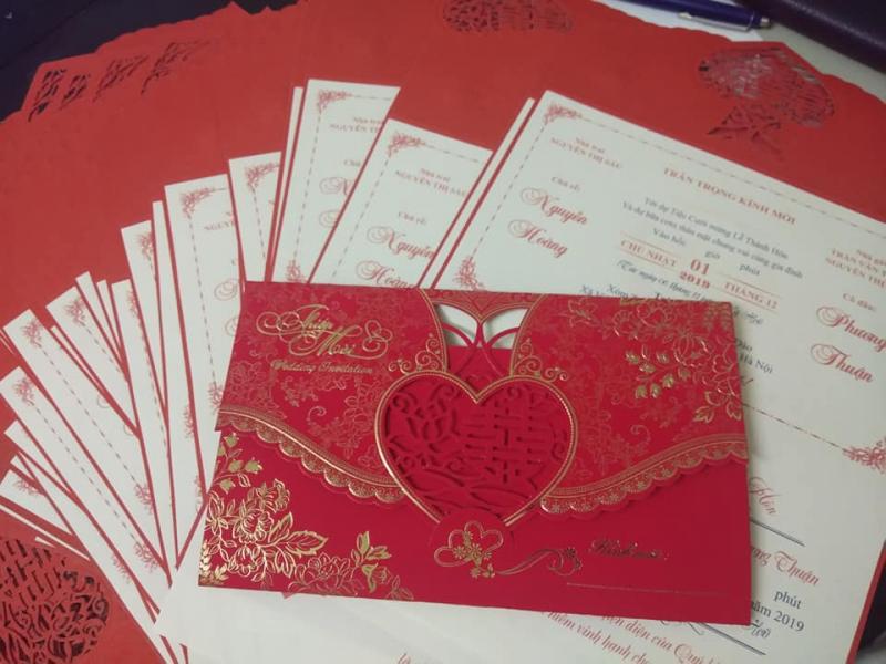 Thiệp cưới 215 Quang Trung