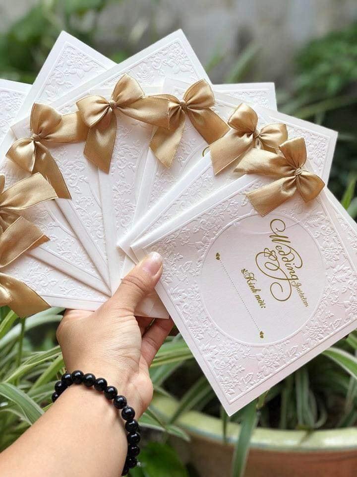 Thiệp cưới Đinh Hương