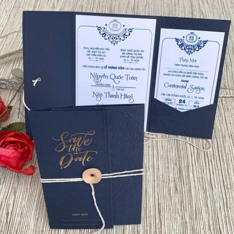 Thiệp cưới Nguyễn Bình