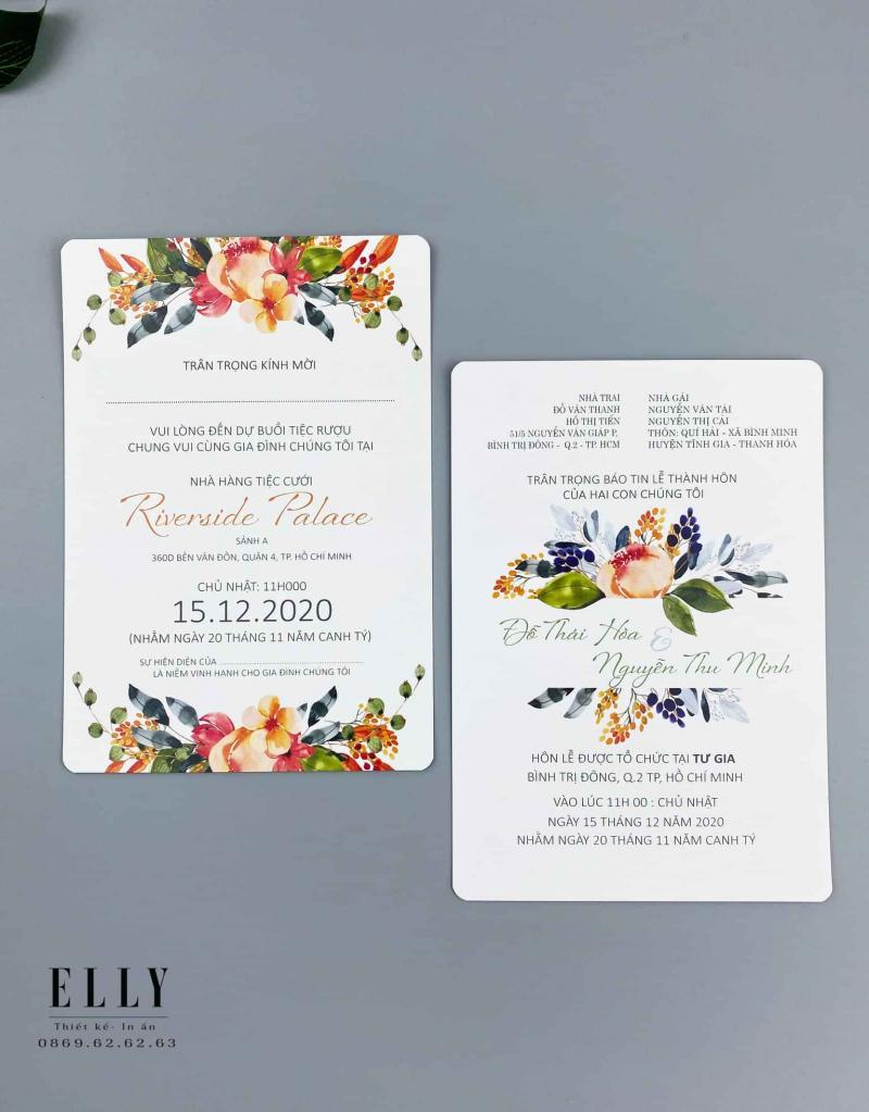 Thiệp cưới ELLY