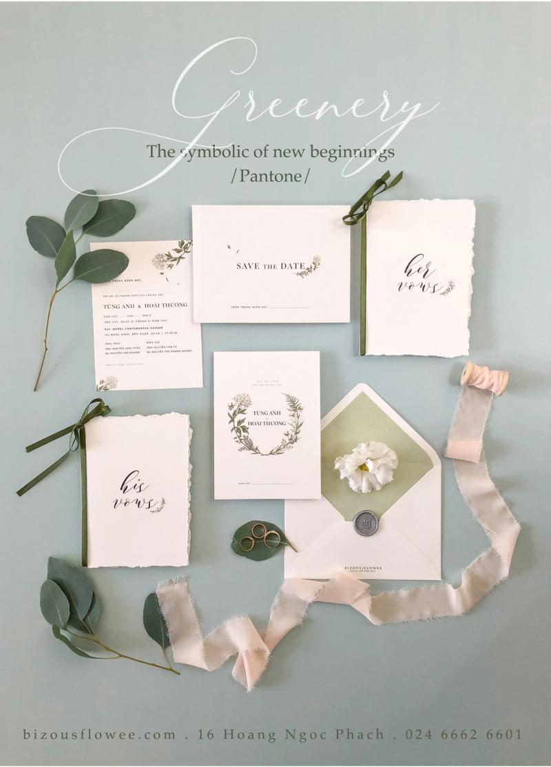 Thiệp cưới Flowee