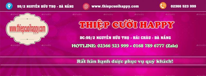 Thiệp Cưới Happy Đà Nẵng