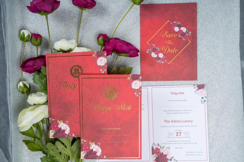 Top 4 Địa chỉ in thiệp cưới đẹp và chất lượng nhất TP. Biên Hòa, Đồng Nai