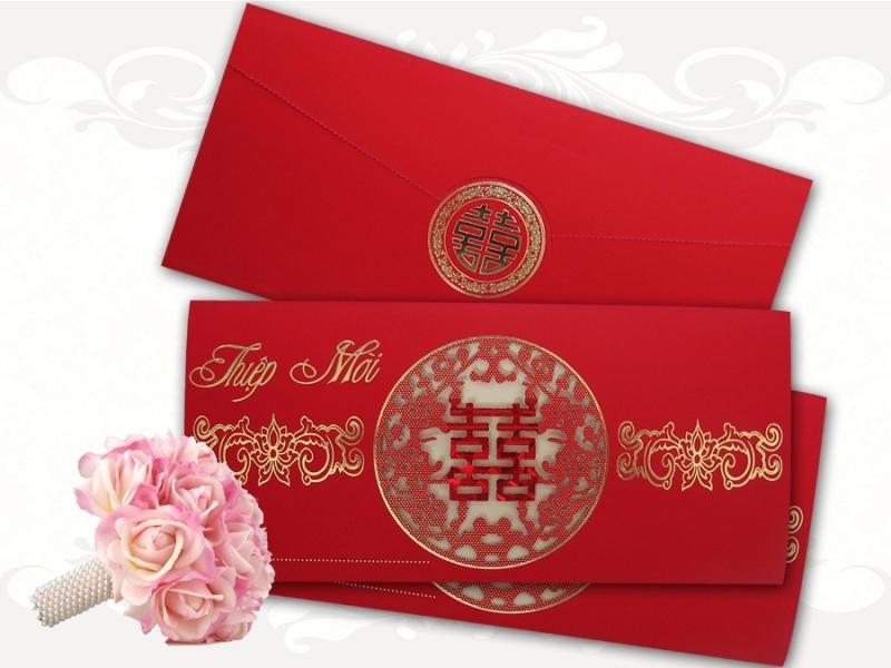 Thiệp cưới ở Hùng Vân