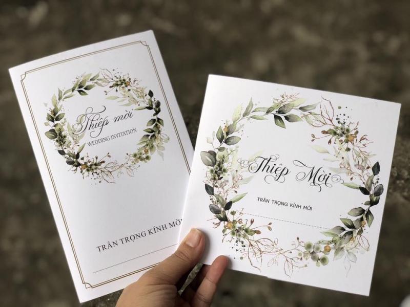 Top 12 dịch vụ in thiệp cưới giá rẻ nhất tại Hà Nội