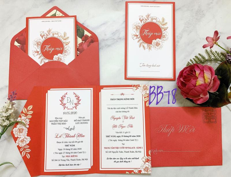 Top 6 địa chỉ in thiệp cưới rẻ, đẹp, chất lượng nhất tại Vinh mới nhất 1