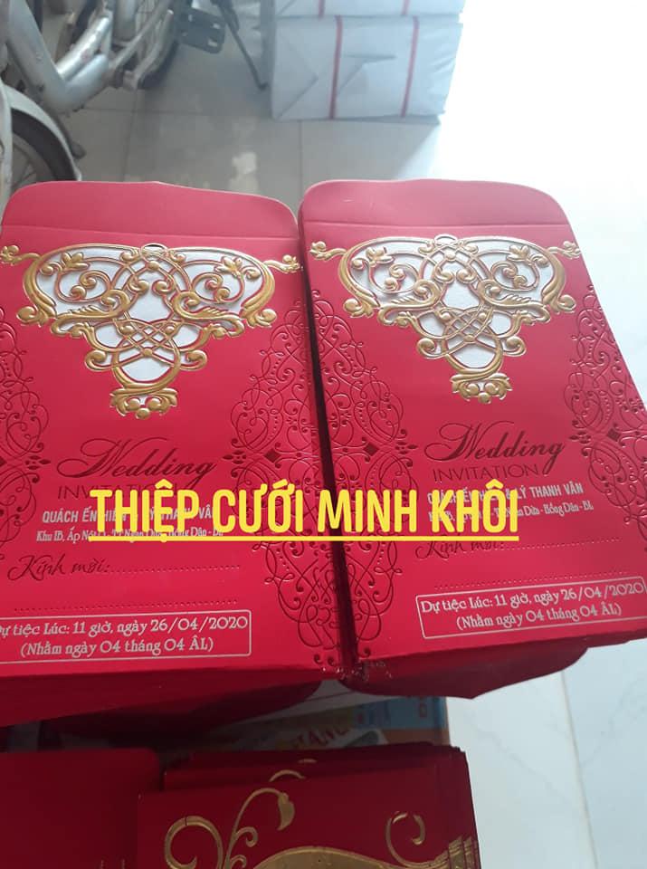 Thiệp cưới Minh Khôi