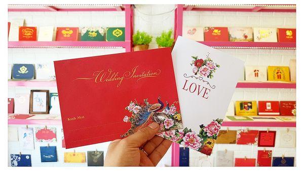 Thiệp cưới Mỹ Kim