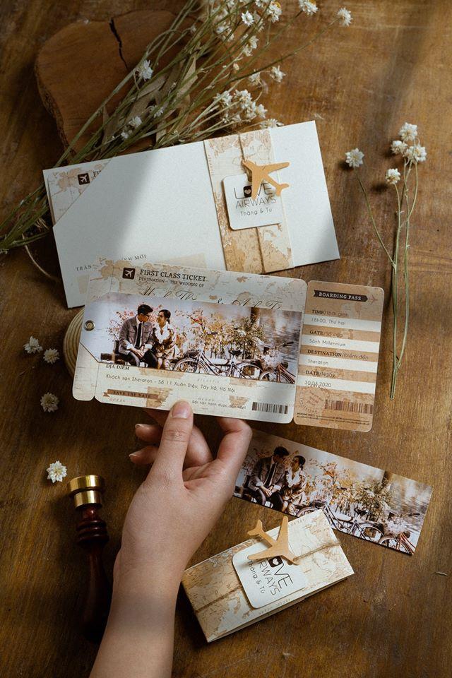 Top 6 nhà cung cấp thiệp cưới đẹp, phong cách tại Hà Nội