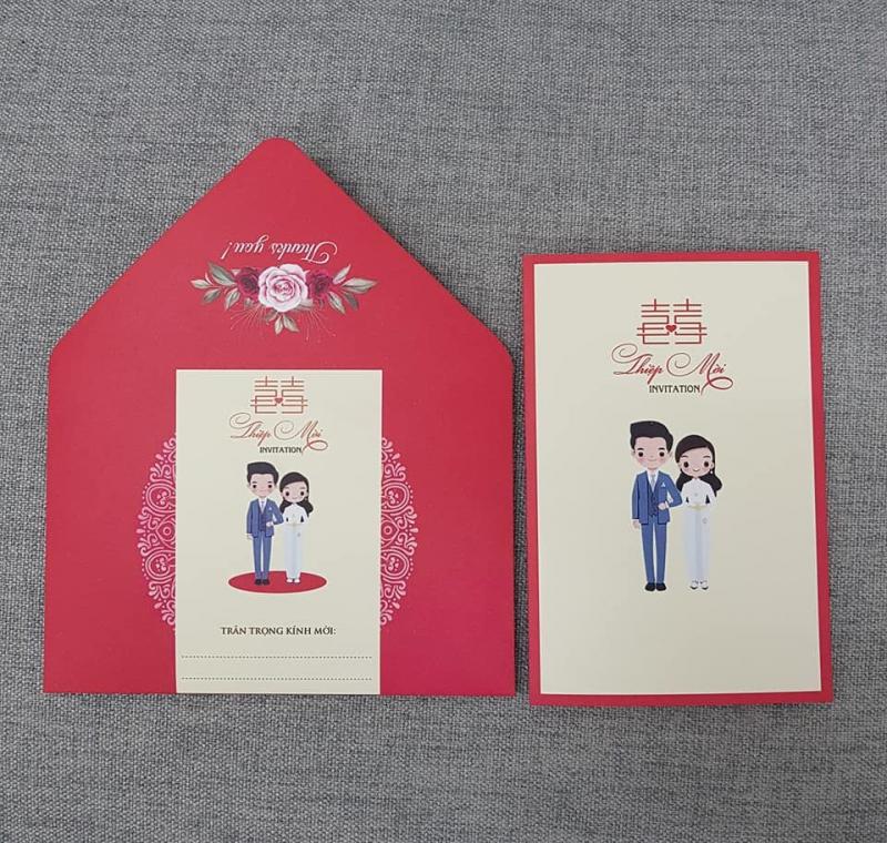 Thiệp cưới Quang Phú