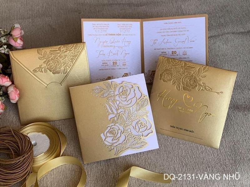 Thiệp cưới Sơn Hải