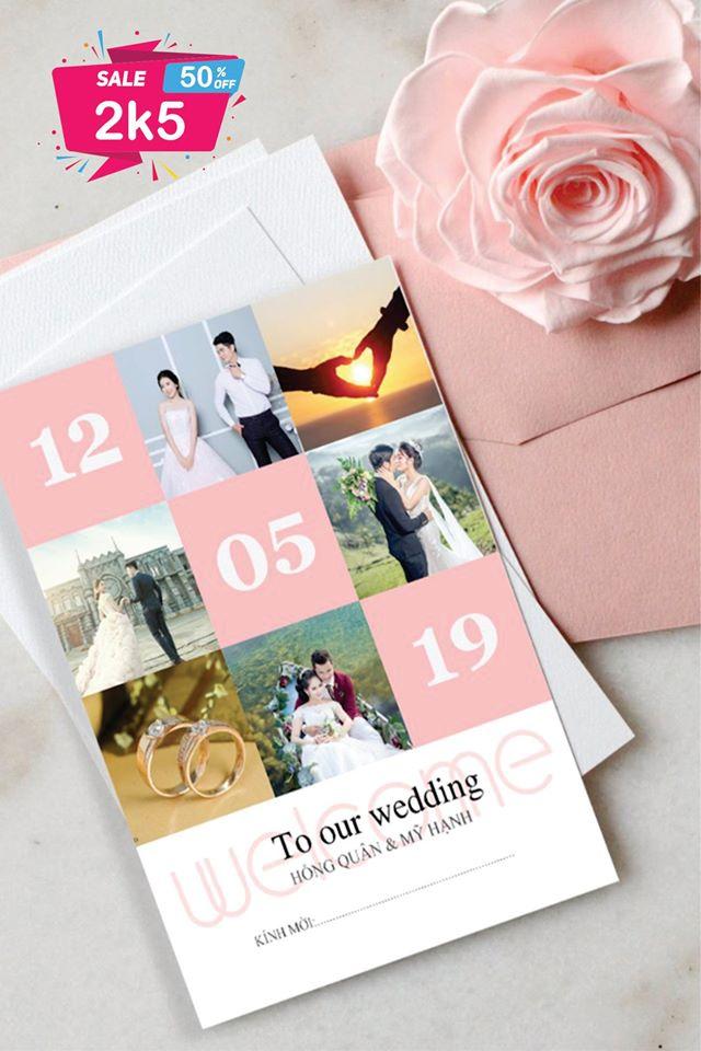 Thiệp cưới TC