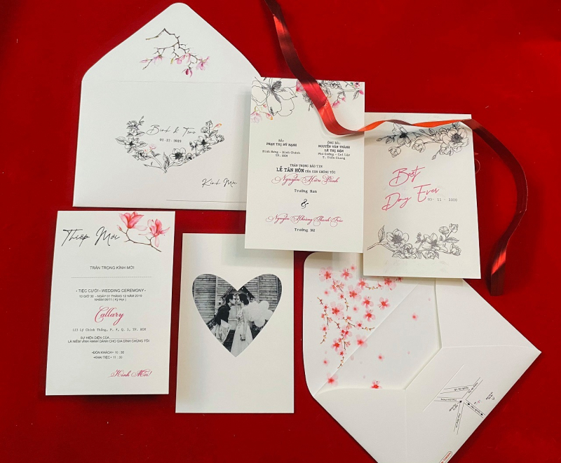 Top 7 địa chỉ in thiệp cưới đẹp nhất tại quận 3, Tp HCM