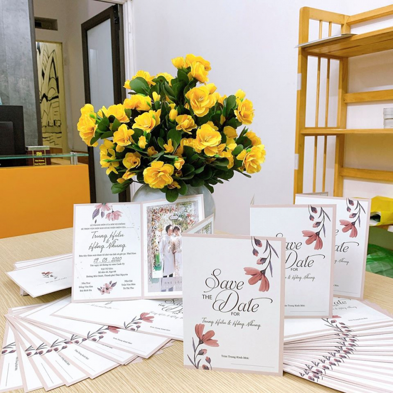 Thiệp cưới Thái Nguyên