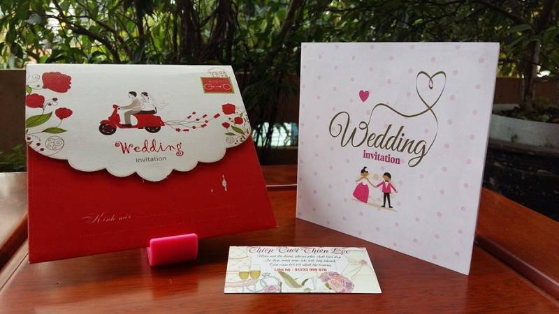 Thiệp cưới Thiên Lộc.