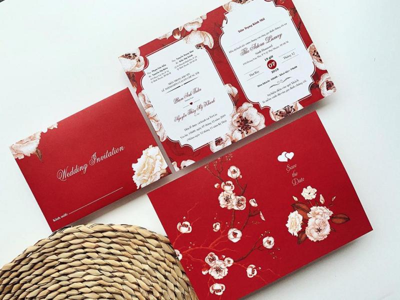 Thiệp cưới Trí Việt