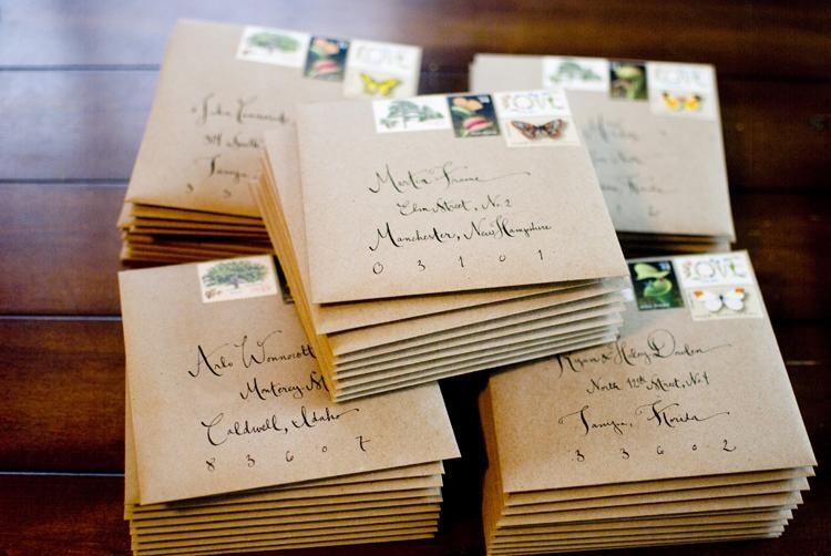 Thiệp cưới viết tay rất độc đáo mang phong cách riêng của cặp đôi