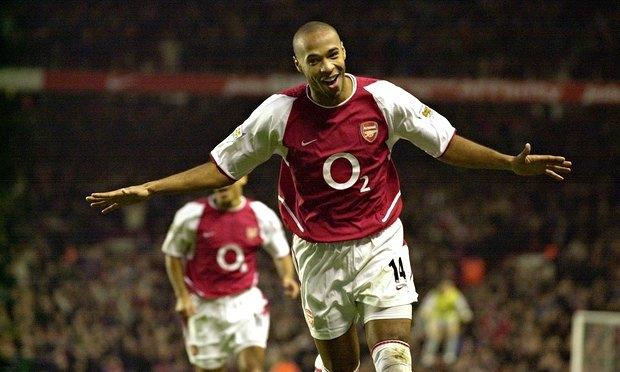 Quãng thời gian thi đấu tại Arsenal đã đưa Thierry Henry trở thành cầu thủ hàng đầu thế giới.
