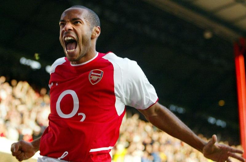 Henry là tiền đạo hay nhất của Arsenal trong lịch sử Premier League